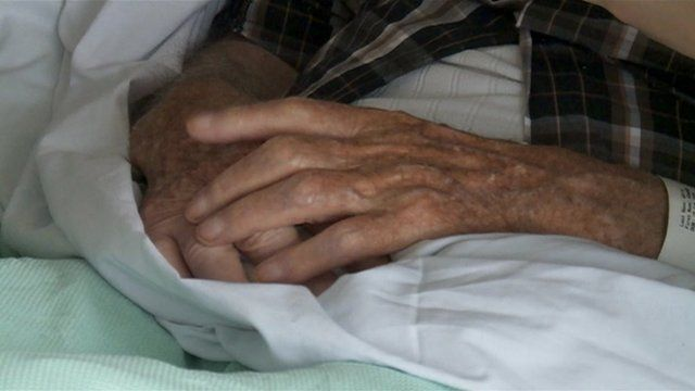 Patient's hands
