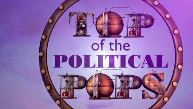Top of the Political Pops logo