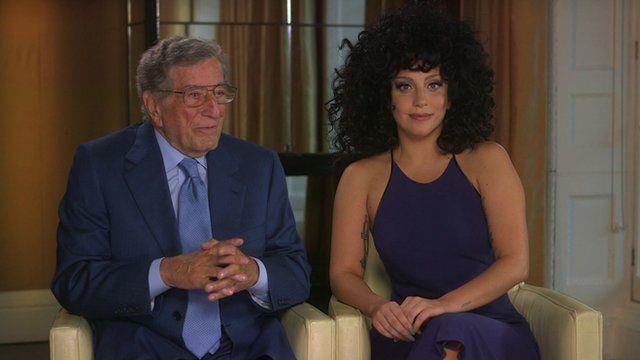 Tony Bennett and Lady Gaga