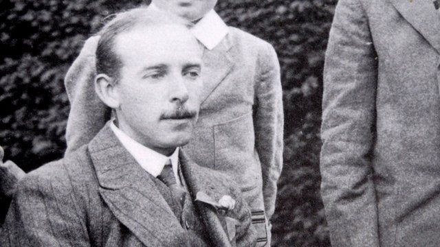 Harry Willoughby 'Willow' Weaving, WWI poet and schoolmaster at Rockport School
