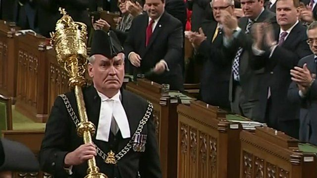 Parliamentary Sergeant-at-Arms Kevin Vickers