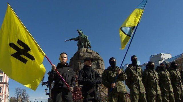 Ukrainian far-right militia