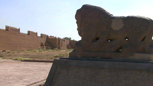 Babylon in present-day Iraq