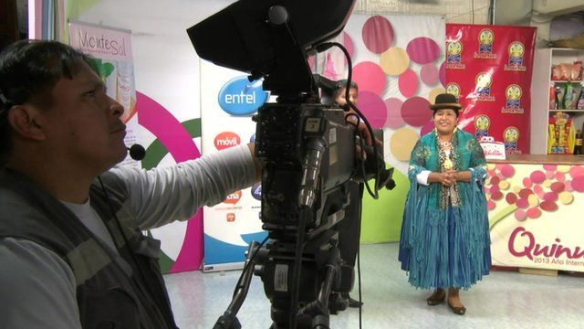 Bolivia TV chef