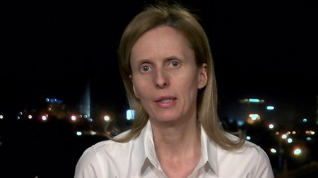 BBC reporter Orla Guerin