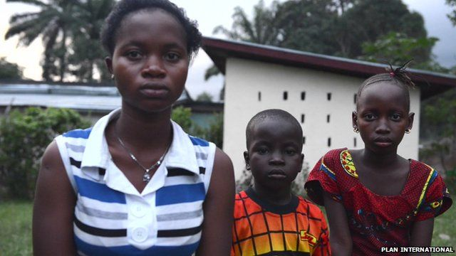 Three siblings in Liberia, orphaned by Ebola, and shunned by their family