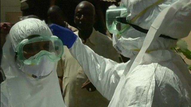 Ebola health care workers in Mali