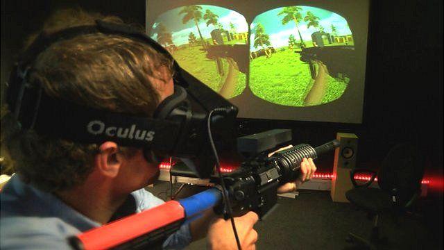 Oculus and gun