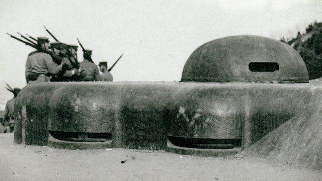 WW1 defences