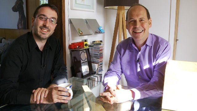 Rory Cellan-Jones and privacy expert George Danezis