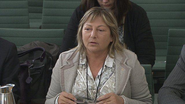 Calais mayor Natacha Bouchart