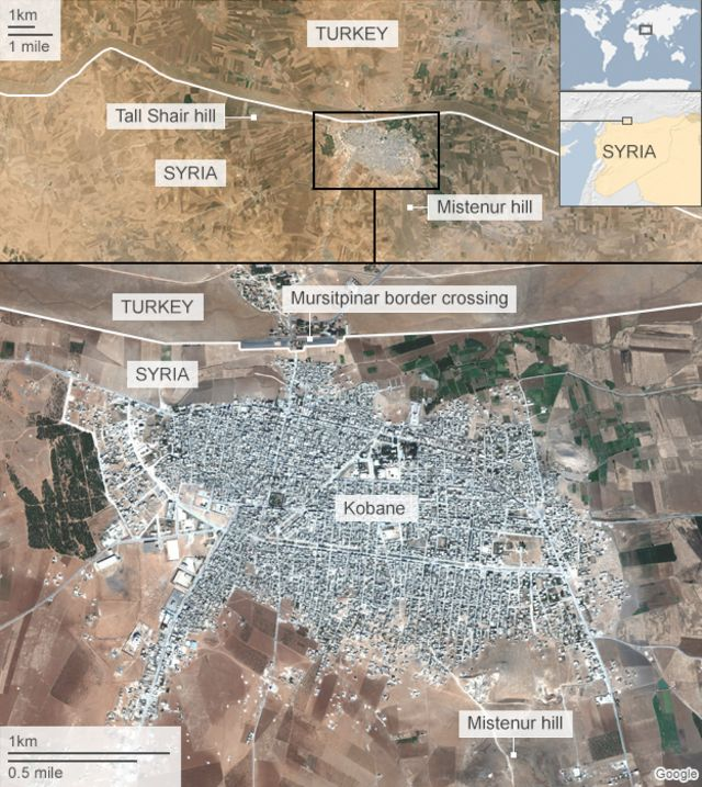 Kobane: Inside the town devastated by fight against IS