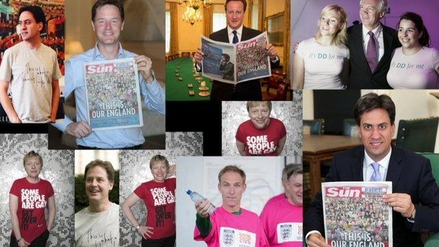 MPs and political slogans on T-shirts