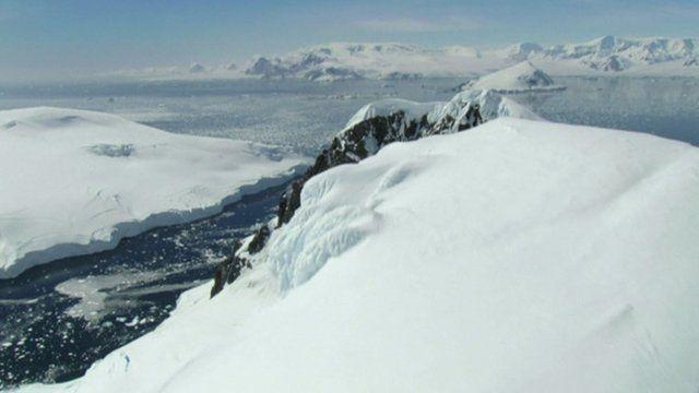 Antarctica sea ice