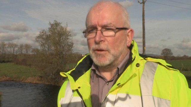 "Jim Gregg from Ballynure Angling Club said the fish kill was ""devastating"""