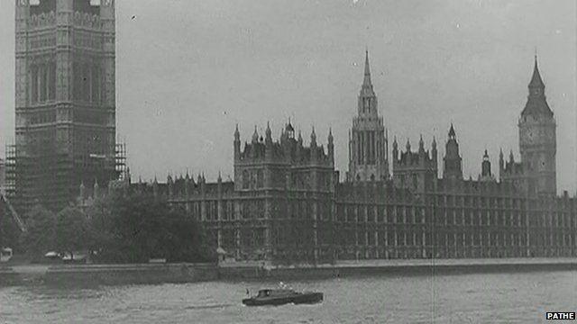 River Thames during Second World War