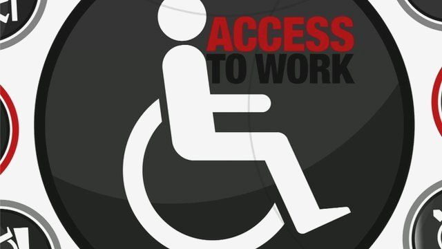 Access to Work graphic