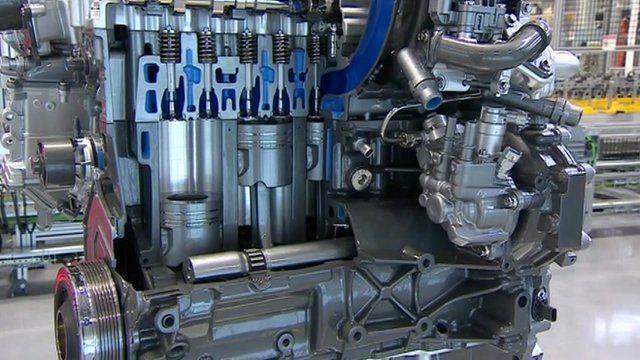 Jaguar Land Rover engine