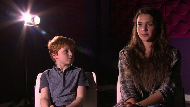 UK kids speaking about Afghanistan