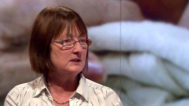 Embryologist Jane Blower