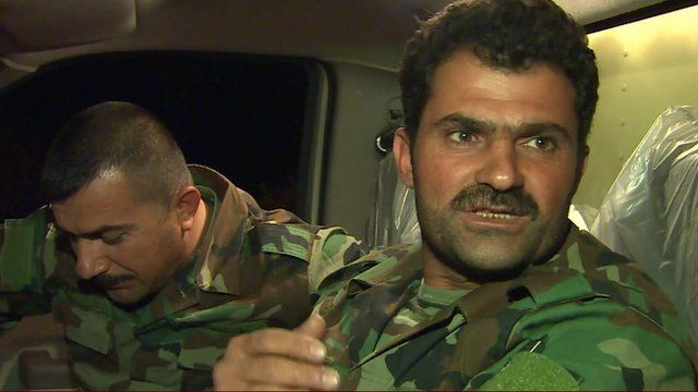 Sergeant Ahmead Mohammad of Peshmerga Force