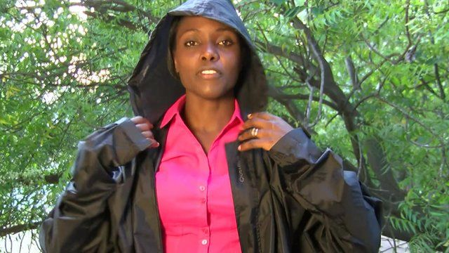 The BBC's Anne Soy in Ghana