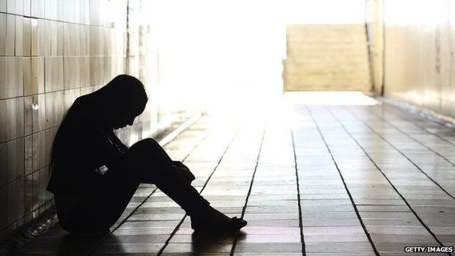The number of suicidal young people seeking help from ChildLine rose last year