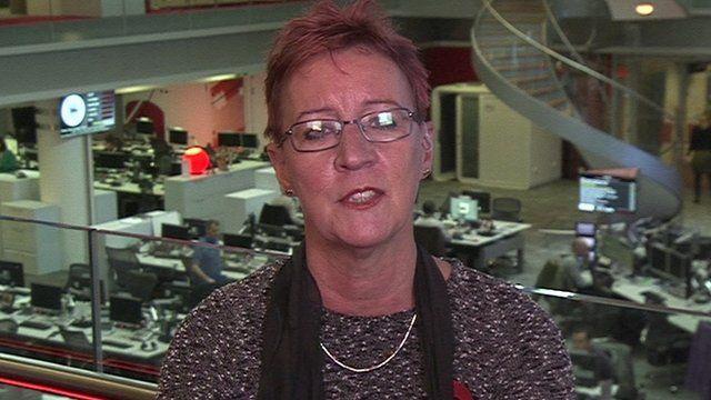 Sue Minto, the head of ChildLine