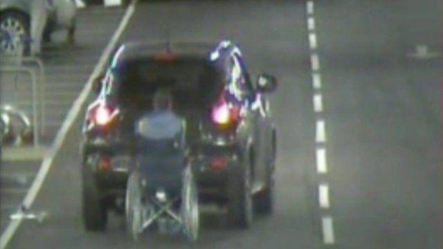 Wheelchair and car