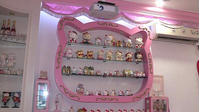 Hello Kitty House hello kitty shrine in singapore - bbc news