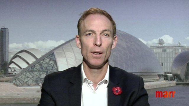 Jim Murphy MP, Scottish Labour leadership candidate