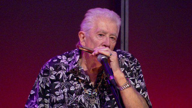 Blues musician John Mayall