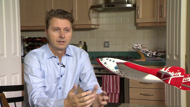 Founding Astronaut for Virgin Galactic, Per Wimmer