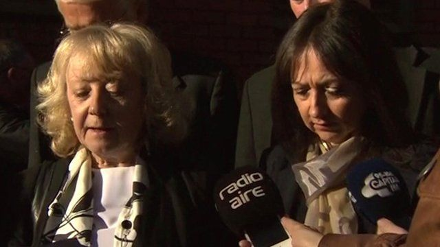 Ann Maguire's sisters Shelagh Conner (l) and Denise Courtney (r)