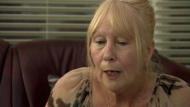 retired Asda employee Irene Cole