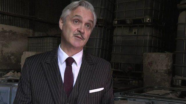 HMRC senior investigation officer Derek Dubery