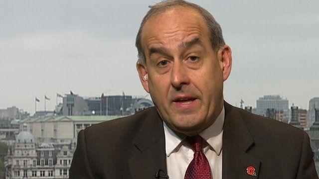 Shadow Immigration Minister David Hanson