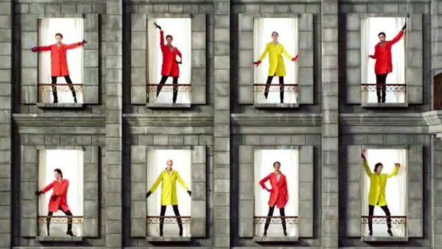 Marks & Spencer advertisement