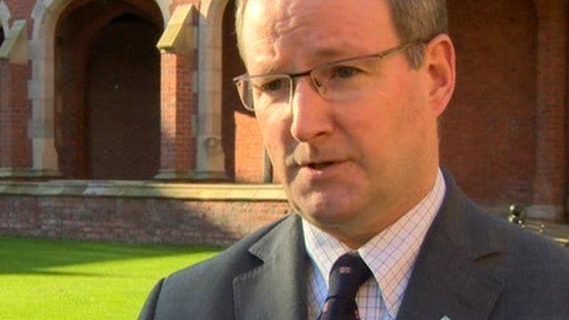 "Professor Patrick Johnston, QUB, said students were Northern Ireland's ""lifeblood"""