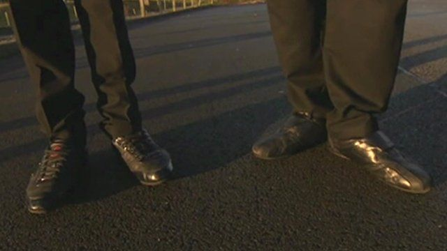 'Unacceptable' school shoes at Bradford academy