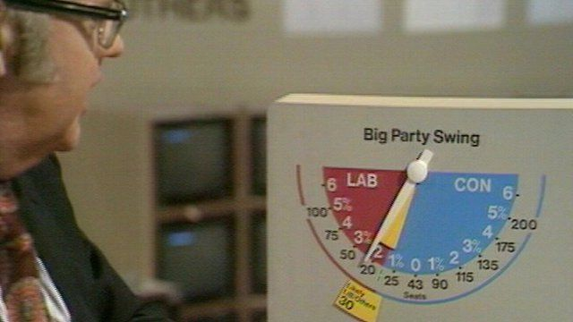 Bob McKenzie oversees the introduction of a third party to the swingometer
