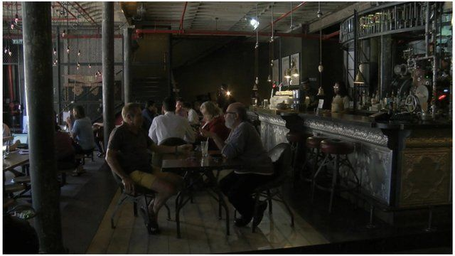 South Africa steampunk cafe