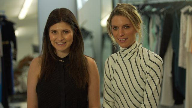 Becky Cooper and Bridget Yorston, Australian fashion designers