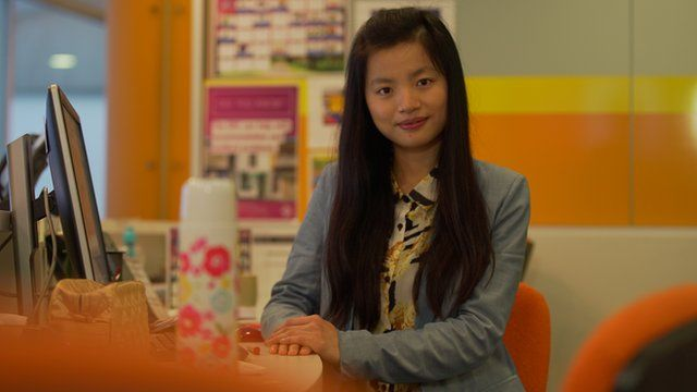 Student Wen Chen