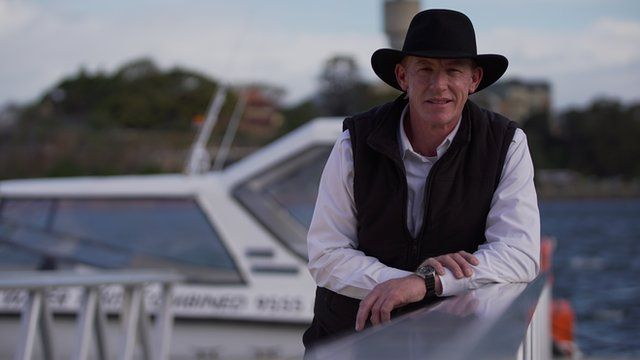 Australia water taxi driver Grant O'Keefe