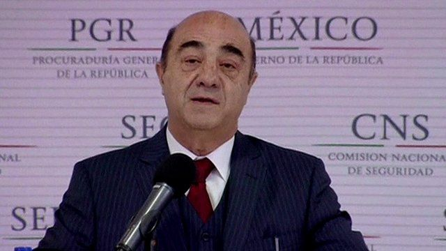 Mexico's Attorney General Jesus Murillo