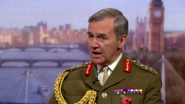 Chief of the Defence Staff, General Sir Nicholas Houghton
