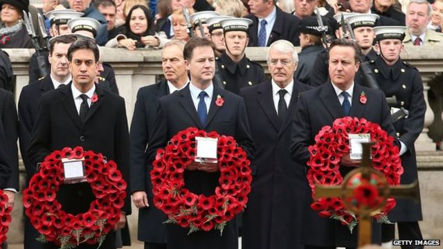 Remembrance Sunday: Nation falls silent as Queen leads commemorations
