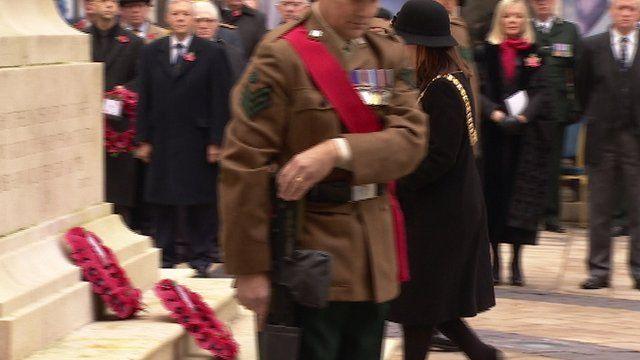 Belfast city hall remembrance