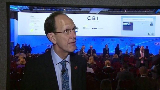 The CBI's director general, John Cridland
